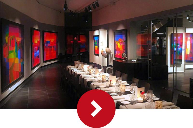 Diner in Museum Ton Schulten
